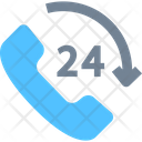 Call Center Hours Support Hours Service Icon