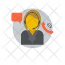 Customer Representative Call Center Customer Support Icon
