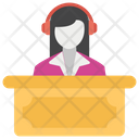Instant Support Customer Services Customer Representative Icon