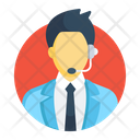 Technical Support Call Center Customer Support Icon