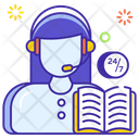 Cold Calling Telemarketing Helpline Icon