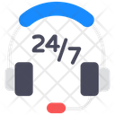 Customer Support Customer Services 247 Hr Service Icon