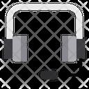 Customer Service Headphone Service Icon