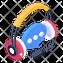 Customer Support Customer Help Call Centre Icon