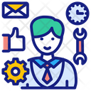 Customer Support Customer Relation Icon