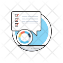 Customer Survey Report Icon