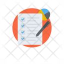 Customer Survey Customer Feedback Checklist Icon
