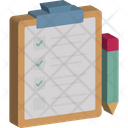 Checklist Customer Survey Marketing Icon