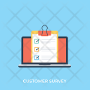 Customer Survey Icon