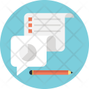 Customer Survey Sheet Icon