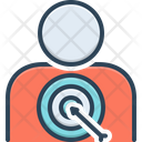 Customer Target Customer Target Icon