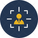 Customer Target Intention Marketing Icon
