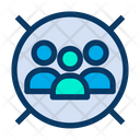 Custtomers Target Users Icon