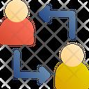 Customer To Customer Icon