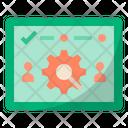Customer Validation Process Customer Validate Process Icon
