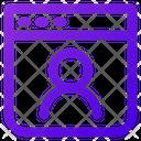 Customer Website Icon