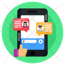 Forum Discussion Customers Feedback Customer Reviews Icon