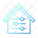 Customize Home Smarthome Technology Icon