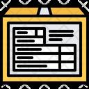 Customs Declaration Box Icon