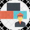 Customs Broker Profession Icon