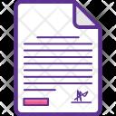 Customs Declaration Icon