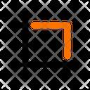 Cut Tool Crop Icon