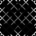 Cut Dollar Shear Icon