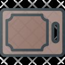 Cut Cutting Board Icon