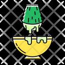 Cut Aloe Vera Sprout Icon