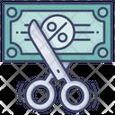 Cut Budget Icon