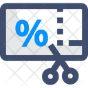 Cut Coupon Icon