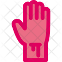 Cut Hand Cutting Hand Icon