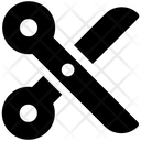 Cut Scissors Flat Icon Cut Icon Fabric Icon