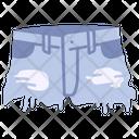 Cut Off Shorts Icon