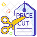 Sale Discount Cut Price Icon