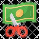 Cut Price Cost Minimize Price Minimize Icon