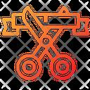 Cut Ribbon Startup Inauguration Icon