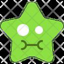 Cute Sick Emoticon Icon