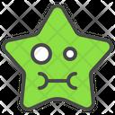 Cute Emoticon Star Icon