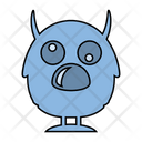 Monster Cute Horn Icon