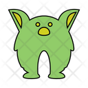 Monster Cute Demon Icon