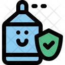 Sanitizer Protection Character Icon