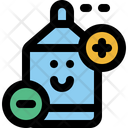 Disinfectant Ion Character Icon
