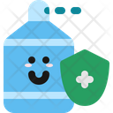 Protection Character Sanitizer Icon
