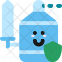 Protection Enemy Sanitizer Icon