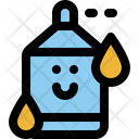 Water Character Cute Icon