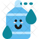 Water Character Sanitizer Icon