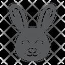 Cute Bunny Icon