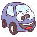 Cute Car Transport Vehicle Icon
