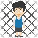 Cute Cartoon Boy Icon